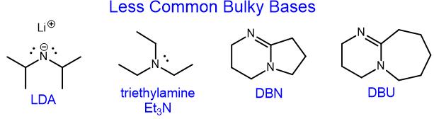 Bulky Bases