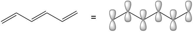 1,3,5-hexatriene pi molecular orbitals