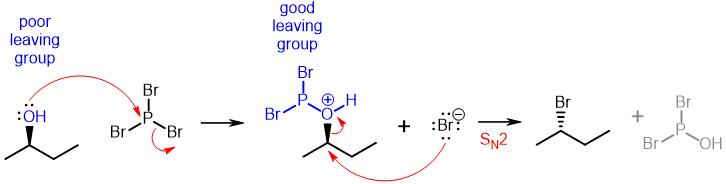 PBr3 Mechanism