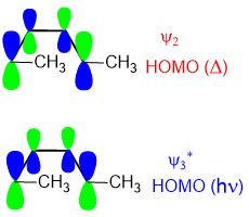 electrocyclic reaction molecular orbitals 03