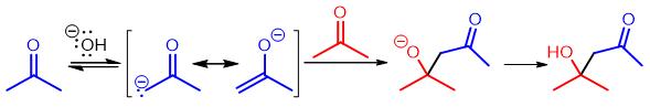 base-catalyzed aldol mechanism